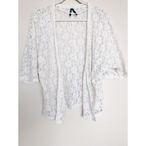 Gentle Fawn Lace Shrug